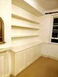 Islington MDF floating shelves